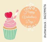happy saint valentine's... | Shutterstock .eps vector #362299076