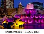 Buckingham Fountain Chicago At...