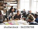 business people meeting design... | Shutterstock . vector #362358788