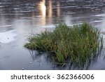 frozen lake in winter and the... | Shutterstock . vector #362366006