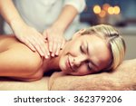 close up of woman lying and... | Shutterstock . vector #362379206