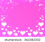 valentines day background with... | Shutterstock . vector #362382332