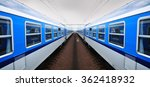 railway  train railroad vehicle | Shutterstock . vector #362418932