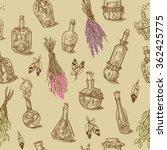 seamless of different bottles...   Shutterstock .eps vector #362425775