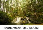 deep forest gundar waterfalls... | Shutterstock . vector #362430002