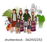 vector design of mizo family... | Shutterstock .eps vector #362432252