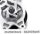 automotive pump isolated on... | Shutterstock . vector #362435645