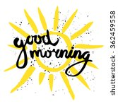Good Morning Calligraphic...