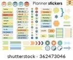 vector illustration   planner... | Shutterstock .eps vector #362473046