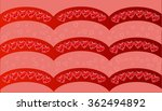 happy valentines day card...   Shutterstock .eps vector #362494892