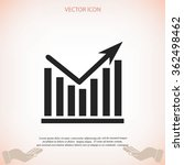 chart vector icon | Shutterstock .eps vector #362498462