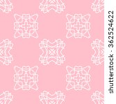 the geometric pattern with... | Shutterstock .eps vector #362524622