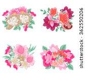flower set | Shutterstock . vector #362550206