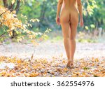 cropped view of beautiful naked ... | Shutterstock . vector #362554976