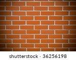 brickwall - stock photo