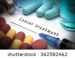 cancer treatment   diagnosis... | Shutterstock . vector #362582462