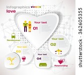 vector elements for infographic.... | Shutterstock .eps vector #362605355