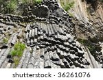 Volcanic Rock Formation   Orga...