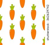 seamless pattern with carrot | Shutterstock .eps vector #362629742
