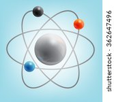 structure of the atom   Shutterstock .eps vector #362647496