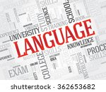 language word cloud  education... | Shutterstock . vector #362653682