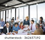 business people office working... | Shutterstock . vector #362657192