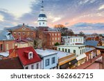annapolis  maryland  usa... | Shutterstock . vector #362662715