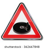 computer head crash and broken... | Shutterstock .eps vector #362667848