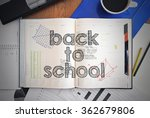 notebook with text inside... | Shutterstock . vector #362679806