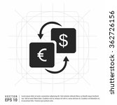 vector currency converter icon