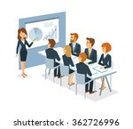 vector business people at the... | Shutterstock .eps vector #362726996