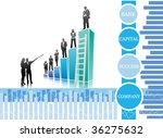 concept of business people | Shutterstock .eps vector #36275632
