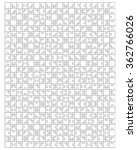 white puzzle  vector... | Shutterstock .eps vector #362766026