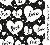 romantic concept seamless... | Shutterstock .eps vector #362768105