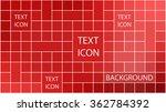 modern geometric square... | Shutterstock .eps vector #362784392