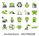 ecology icons | Shutterstock .eps vector #362788208