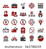investment icons | Shutterstock .eps vector #362788235
