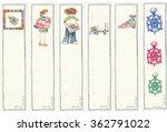 bookmarks for children's books  ... | Shutterstock . vector #362791022