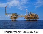 offshore industry oil and gas... | Shutterstock . vector #362807552