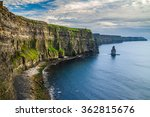 cliffs of moher  county clare ... | Shutterstock . vector #362815676