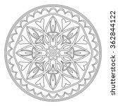 vector decorative element... | Shutterstock .eps vector #362844122