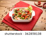healthy food beautiful and... | Shutterstock . vector #362858138