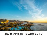 santa cruz cityscape view with... | Shutterstock . vector #362881346