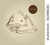 vector hand drawn food sketch...   Shutterstock .eps vector #362888282