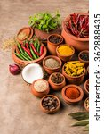 indian essential spices in... | Shutterstock . vector #362888435