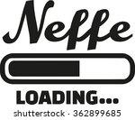 nephew loading german   Shutterstock .eps vector #362899685