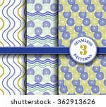 seamless patterns collection.... | Shutterstock .eps vector #362913626