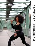 Small photo of Beautiful African dancehall dancer