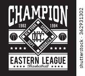 Athletic Sport Typography  T...