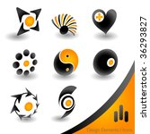 Iconset 1 of 2 - stock vector